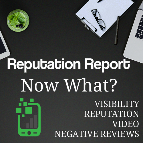 You Have Viewed Your Reputation Report, Now What?